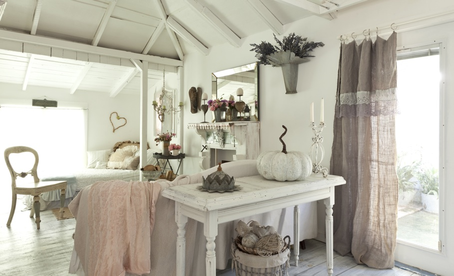 Romantic prairie style for Case shabby chic country